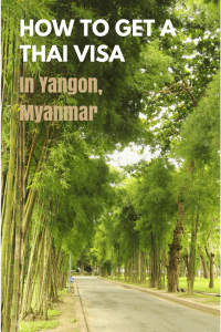 I would strongly recommend getting a Non-B Visa in Yangon for teaching in Thailand. The process is relatively straightforward and painless. In this post, I describe the process, any pitfalls you might encounter and also what fun things to do to do in Yangon while waiting for your new Thai Visa #thaivisa #myanmar #yangon