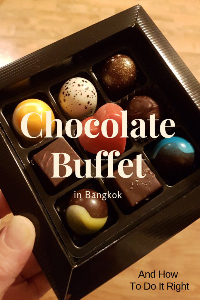 If you are a chocolate lover, this buffet in Bangkok is a must. In addition to divine, mouthwatering cakes, desserts, tarts and confectionery it has many savoury dishes as well so you will leave this place with a full stomach. A must experience for every foodie! #bangkok #thailand #chocolate