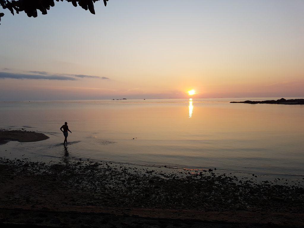 Samma Karuna view at sunset