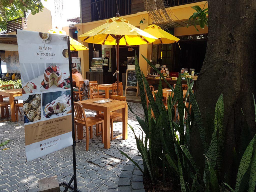 The cozy patio at Buri Rasa