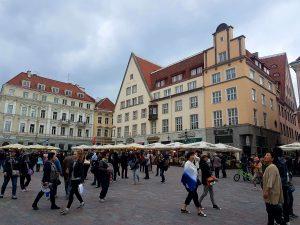 Tallinn Old Town Square