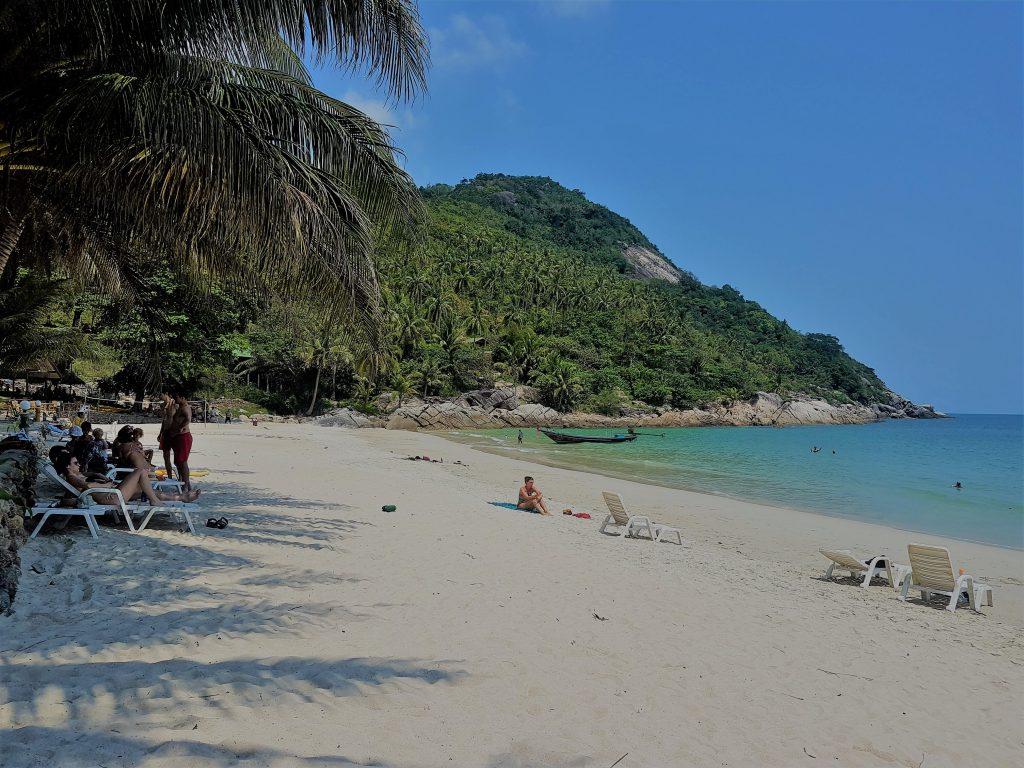 Bottle Beach on a sunny day