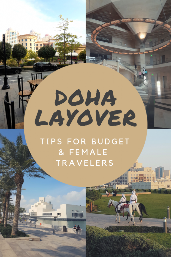 A pic collage of Doha