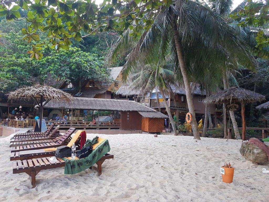 The lovely Sanctuary at Haad Thien beach on Koh Phangan
