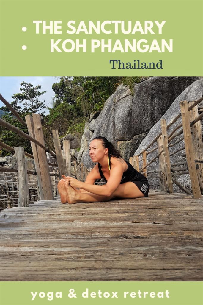 The Sanctuary is a unique #yogaretreat on #kohphangan in #thailand
