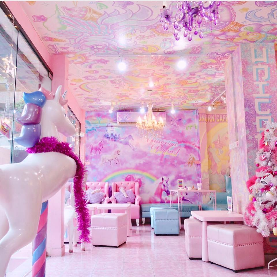 Cute and pink interiors